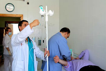 пациент с белой горячкой